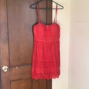 Red American Eagle sundress
